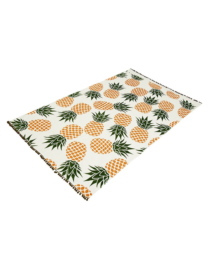 Pineapple Paradiso Beach Towel