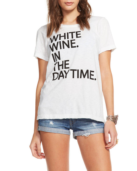 Chaser White Wine In The Daytime Tee