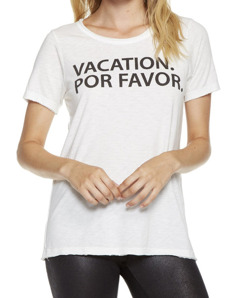 Vacation Por Favor Short Sleeve Tee