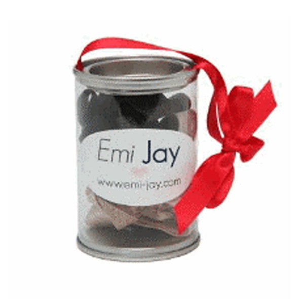 Emi-Jay Classic Oval Tin 8 Hair Ties Pack