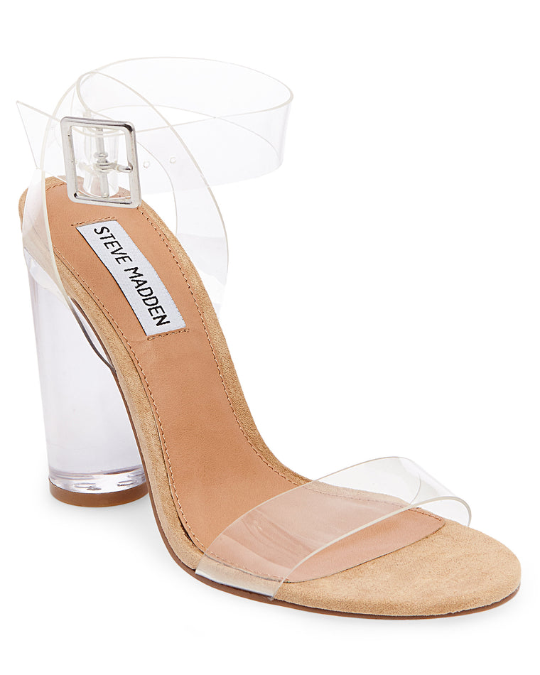 Clearer Lucite High Heel Sandals