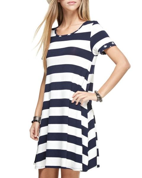 Stars and Stripes Tunic Dress