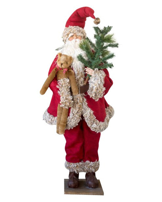 Simple Gifts Large Santa Figurine