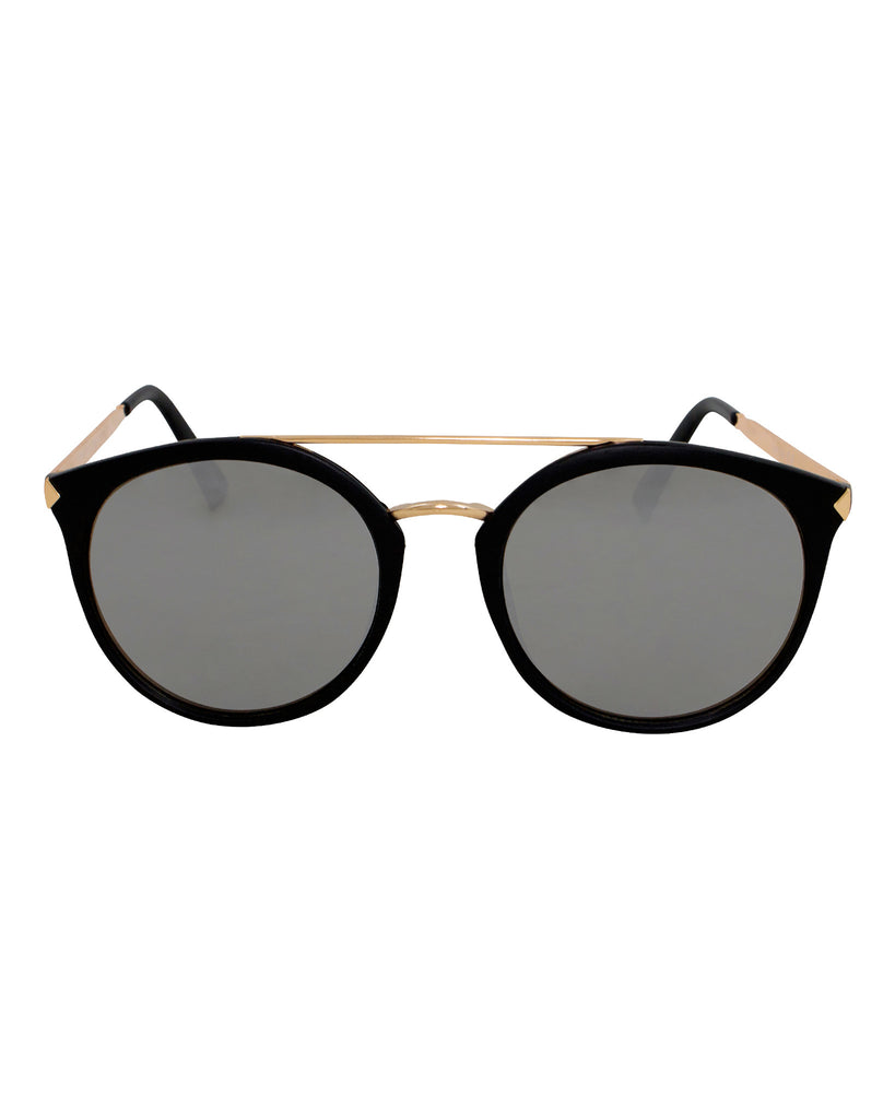 Well Played Oversized Brow Bar Sunglasses