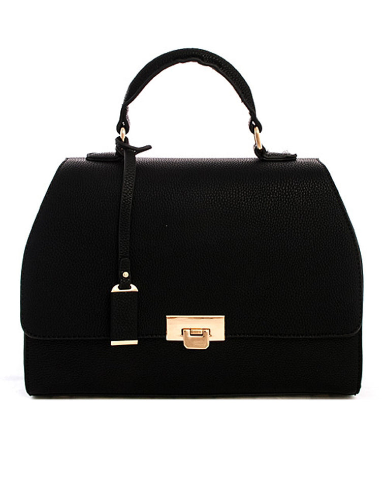 Textured Structure Satchel