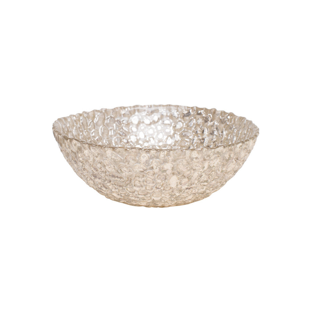 Silver Pebble Bowl
