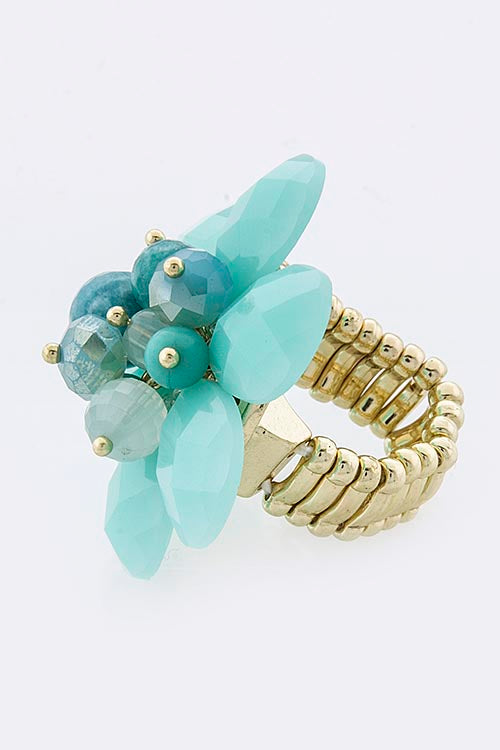 Hannah Flower Jewel Ring