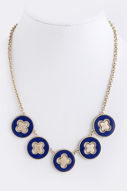 Clover Dot Necklace