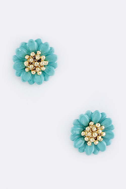 Katie Flower Stud Earrings