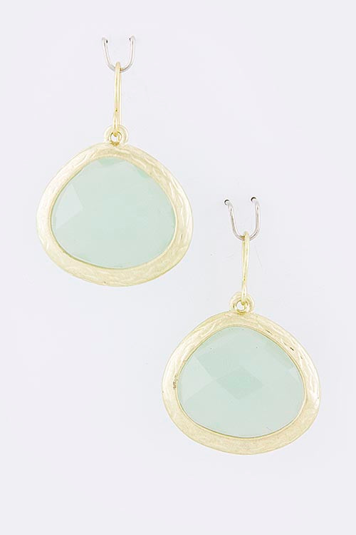 Trina Jewel Droplet Earrings