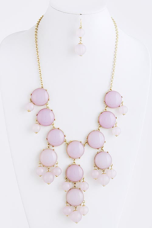 Arianne Bubble Bib Necklace