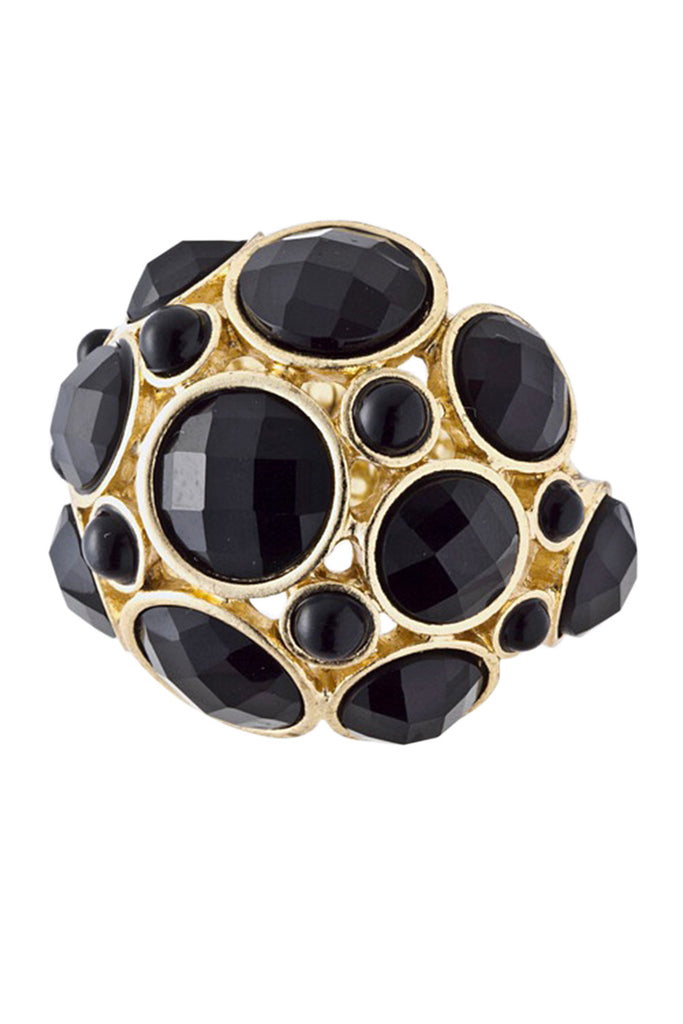 Carissa Onyx Gemstone Ring