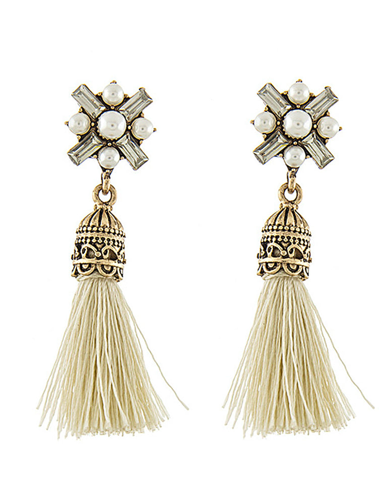 Florence Tassel Drop Earrings
