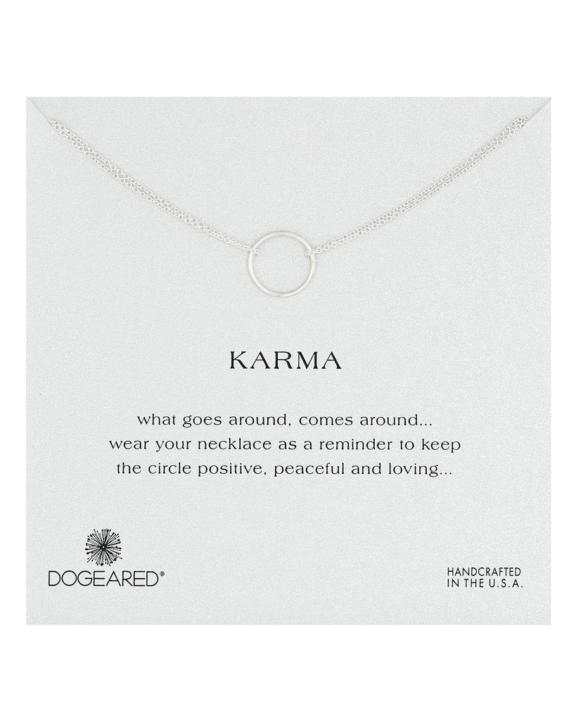 Karma Double Chain Necklace