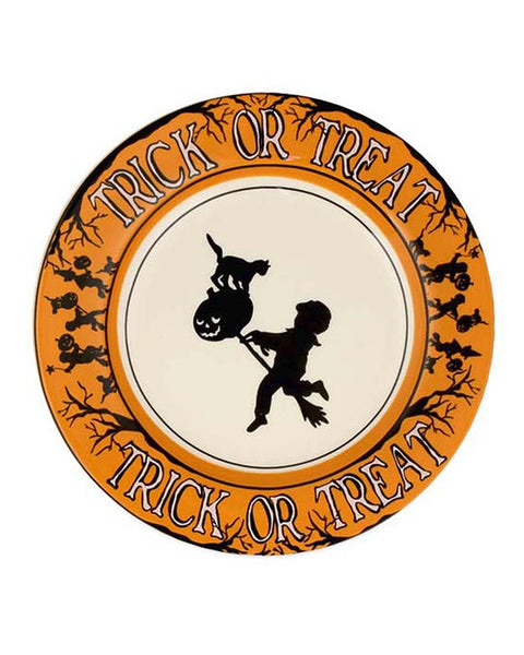 Trick or Treat Salad Plates (Set of 4)