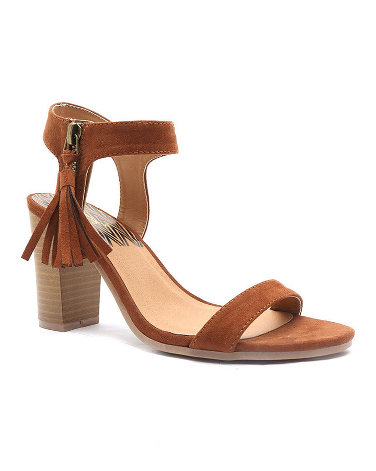 New Horizon Suede High Heel Sandals