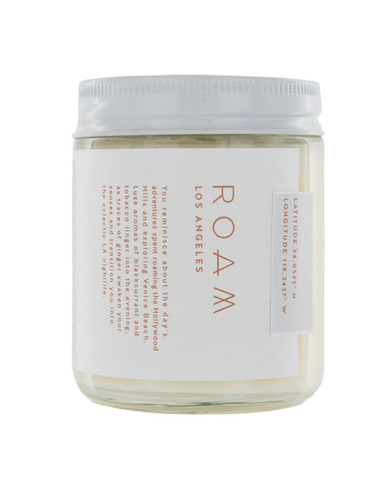 Roam Los Angeles Soy Wax Candle