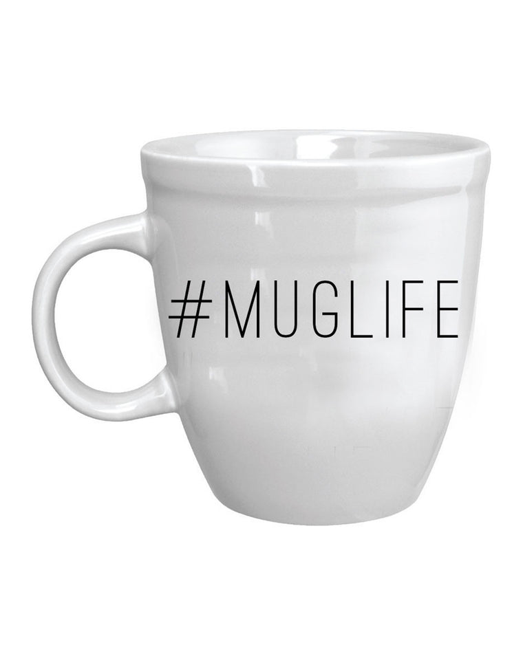 A Cup of Quotes #MugLife Bistro Mug