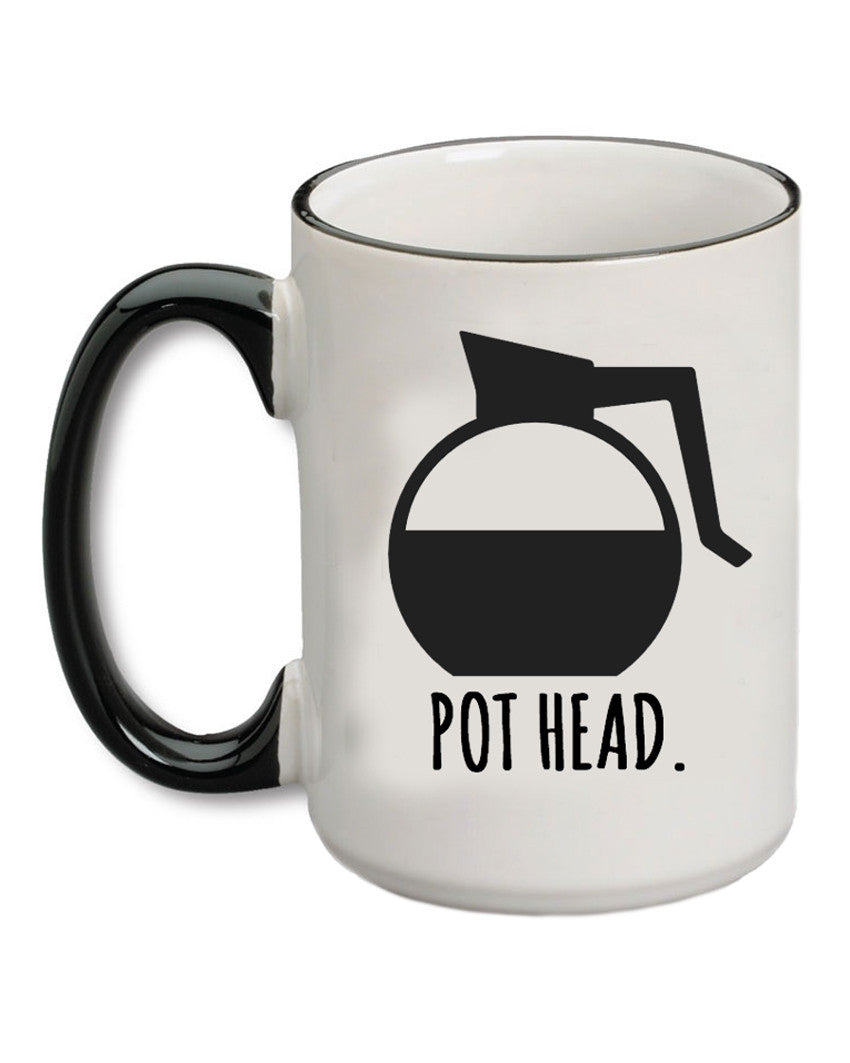 A Cup Of Quotes Coffee Pot Head Coffee Mug The Shopping Bag