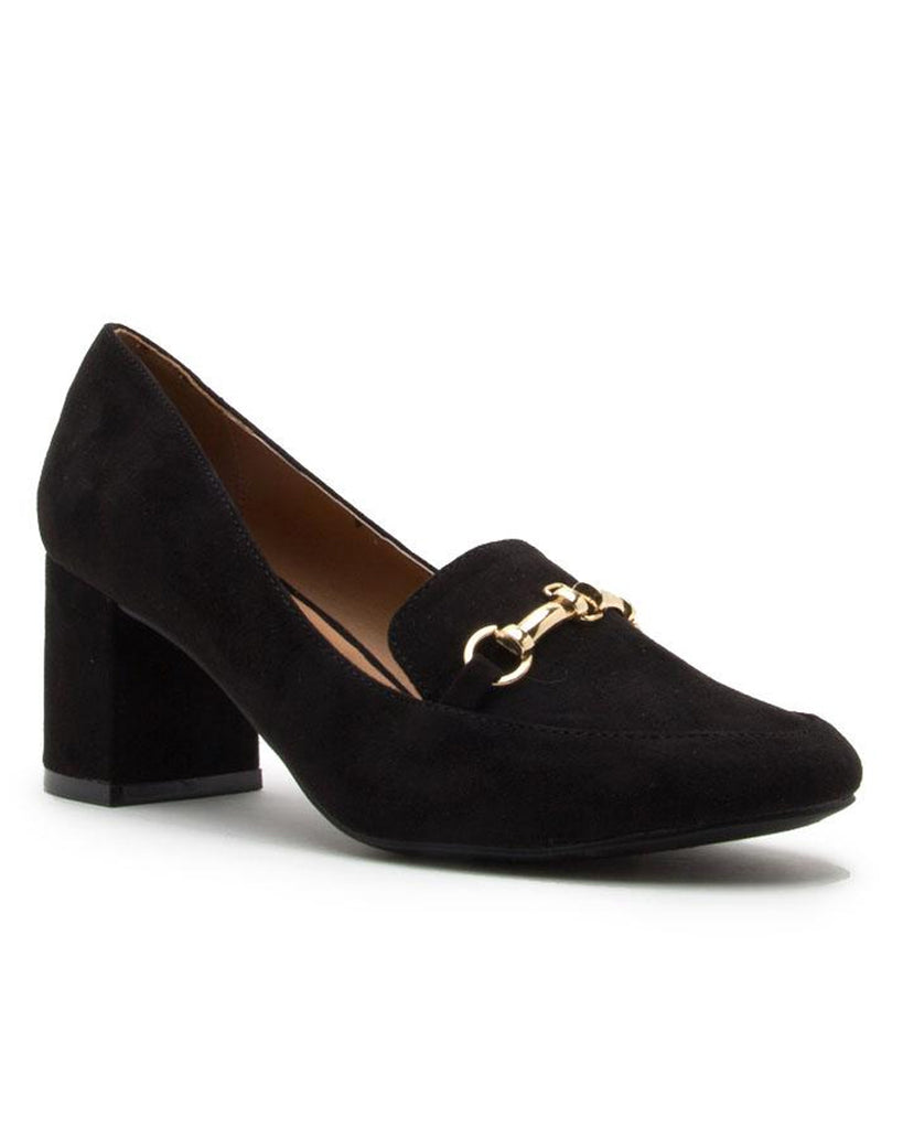 Uptown Horsebit High Heel Loafer