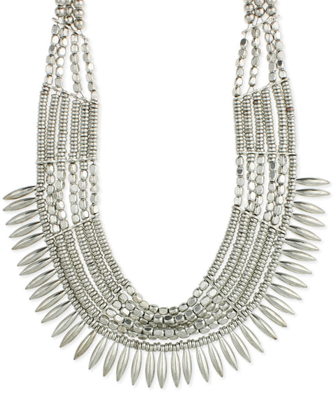 Gigi Spike Bib Necklace