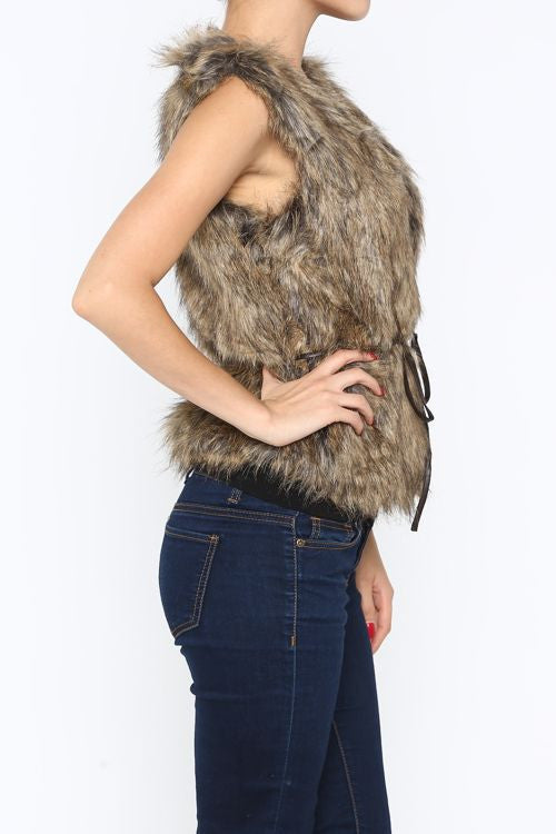 Full Faux Fur Vest