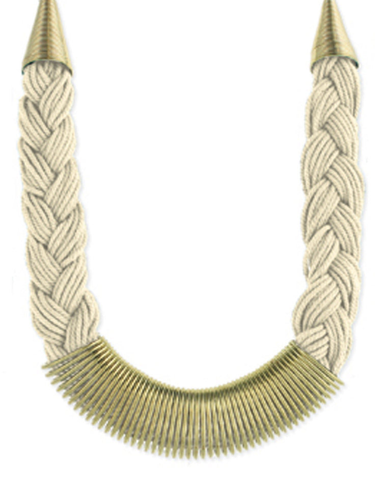 Darlene Braided Collar Necklace