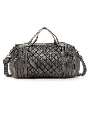 Quilted Washed Duffel