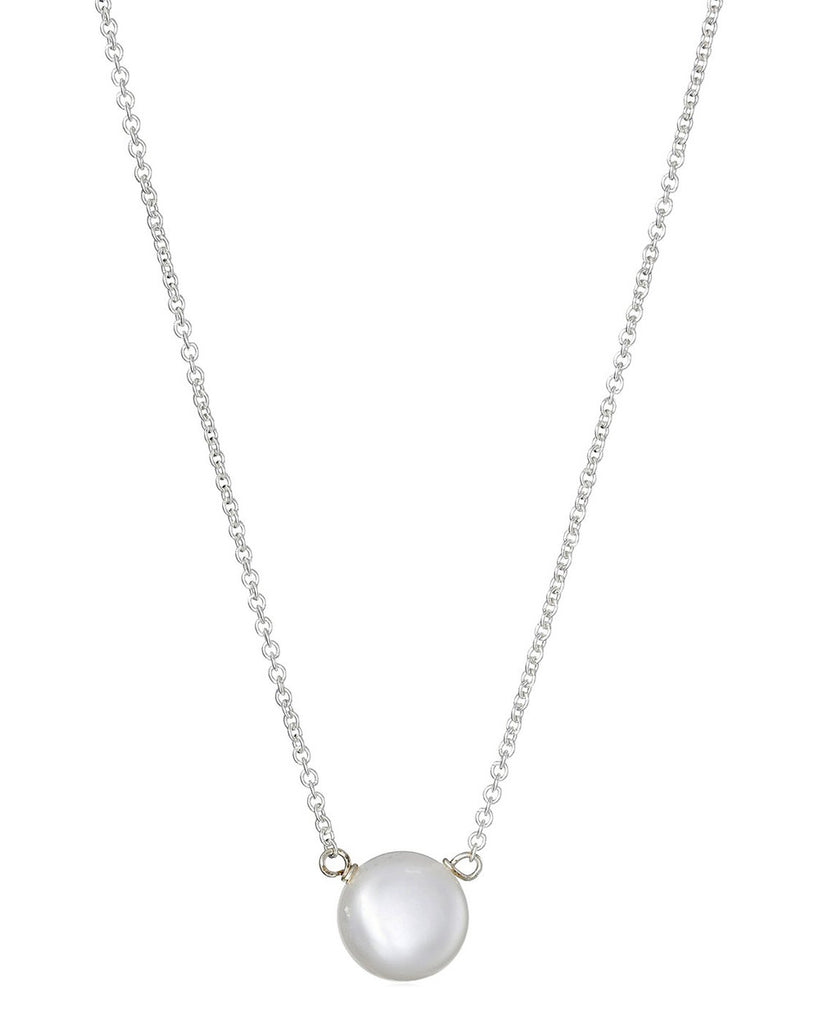 Dogeared Freshwater Pearls of Love Necklace