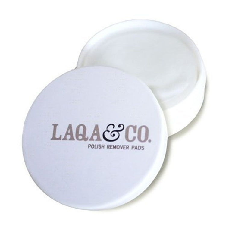 LAQA & Co Nail Polish Remover Pads