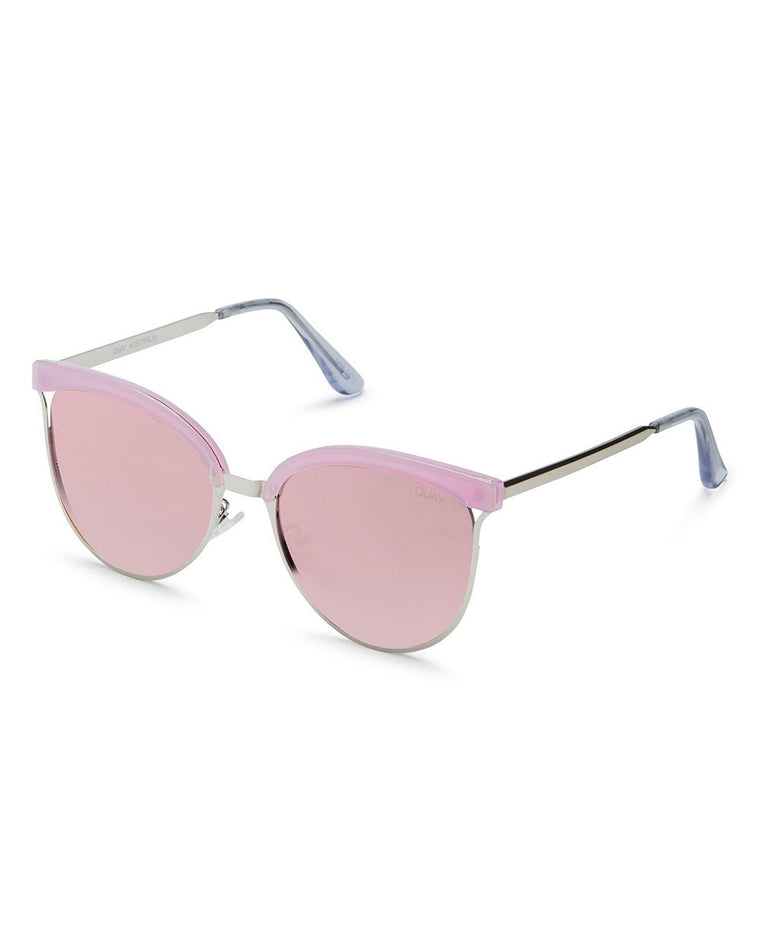 Stardust Mirrored Cat Eye Sunglasses