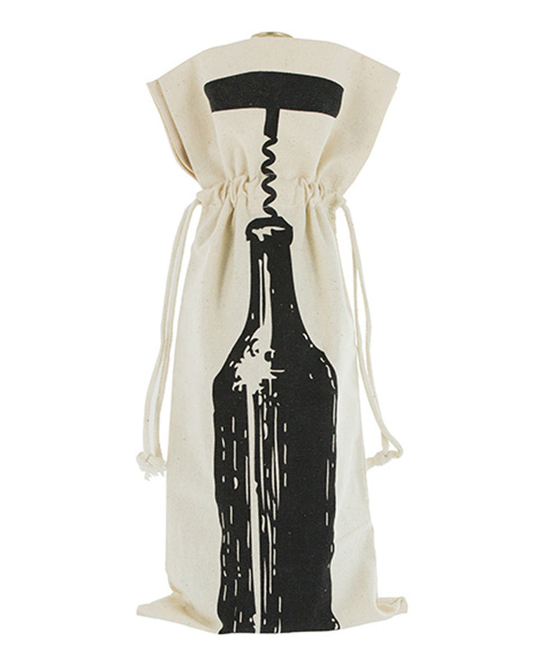 Corked Bottle Wine Bag