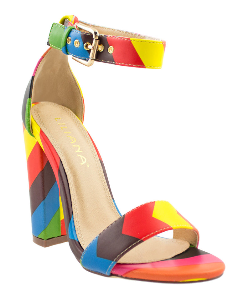 Fiesta Forever Ankle Strap Heels