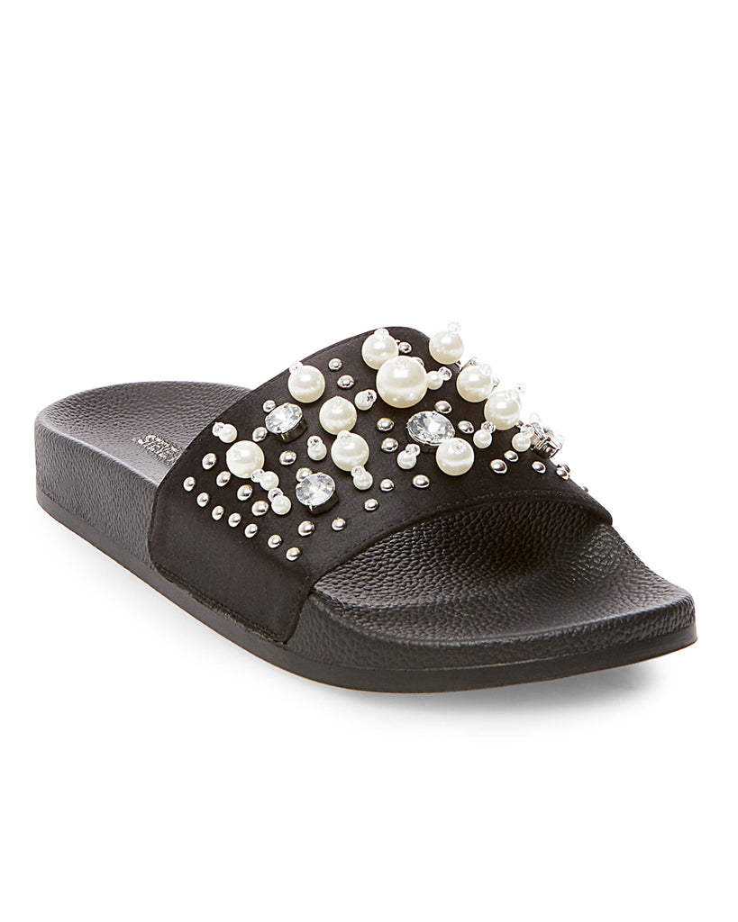 Sandy Embellished Slide Sandals