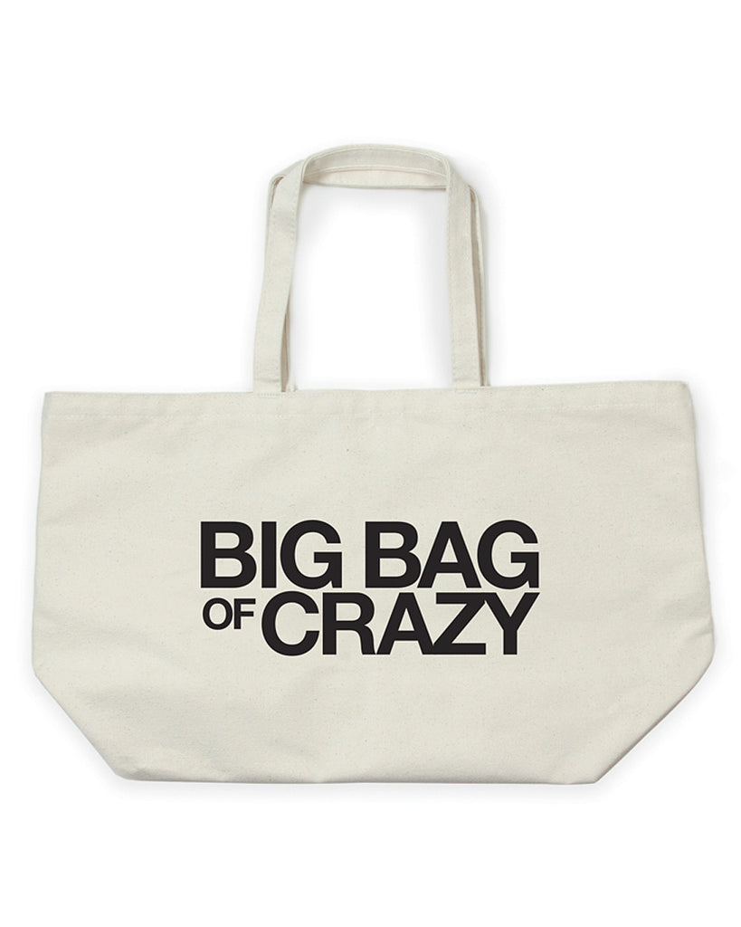 Dogeared Big Bag of Crazy Super Tote