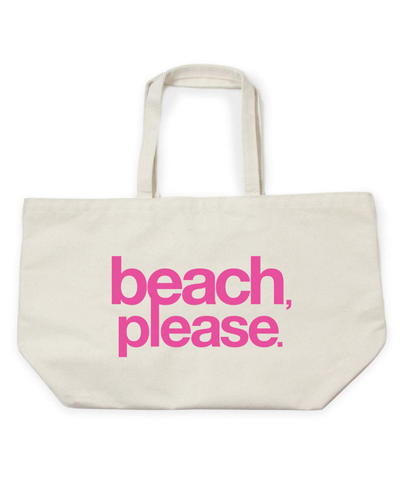 Beach, Please Super Tote