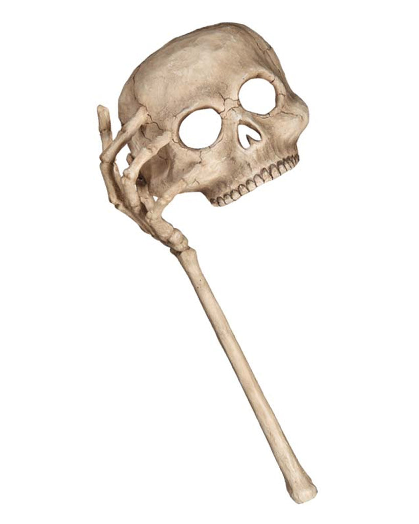 Masquerade Skull Mask with Arm