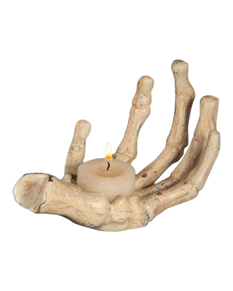 Skeleton Hand Votive Holder