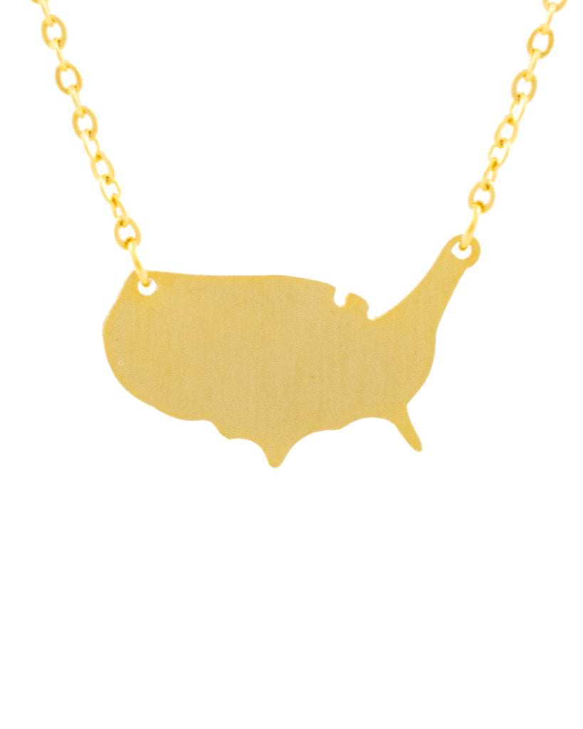 USA Charm Necklace