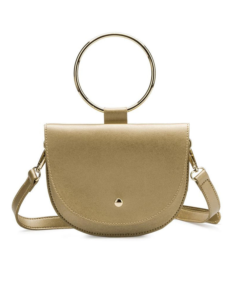 Felix Ring Mini Gold Crossbody