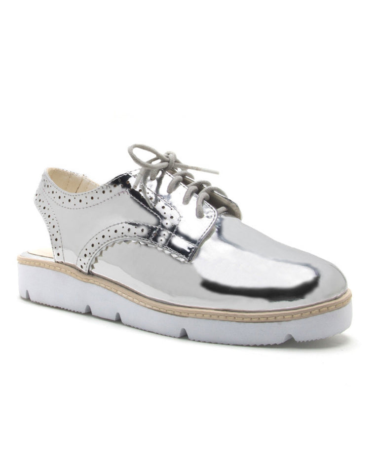 Best Life Metallic Oxford Slip-On Sneakers