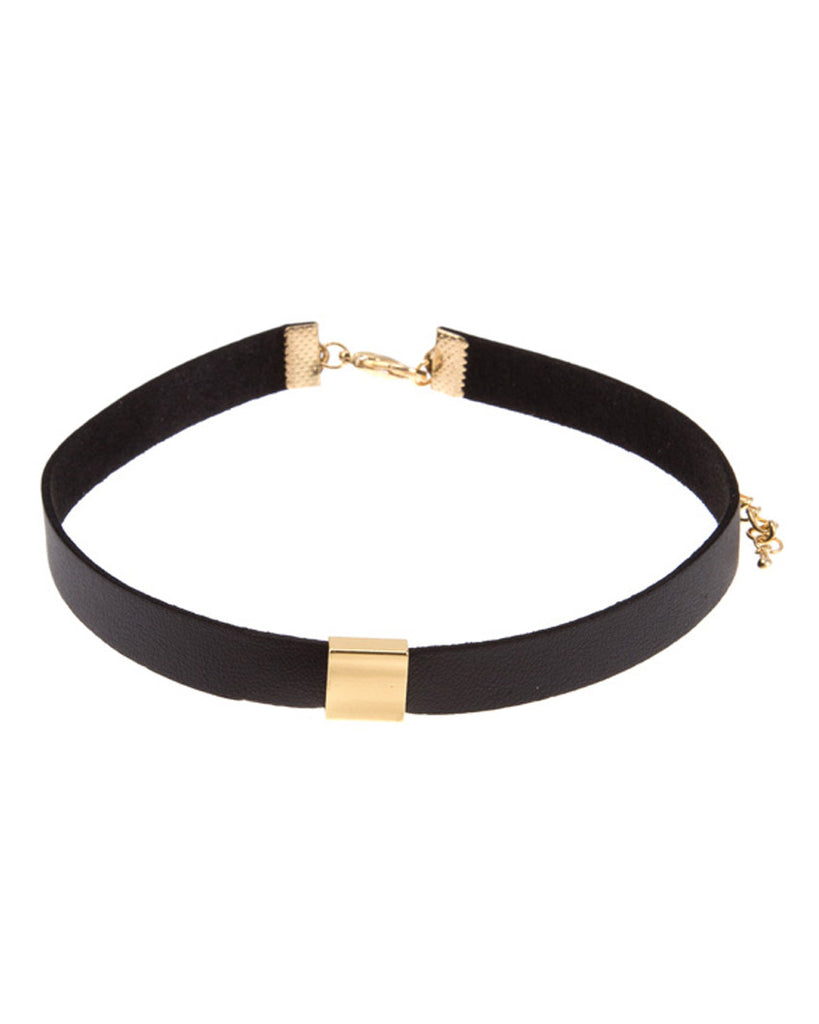 Stevie Square Charm Choker