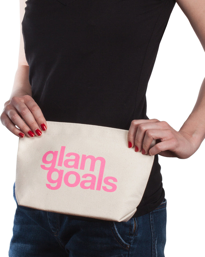Dogeared 'Lil' Zip' Glam Goals Pouch