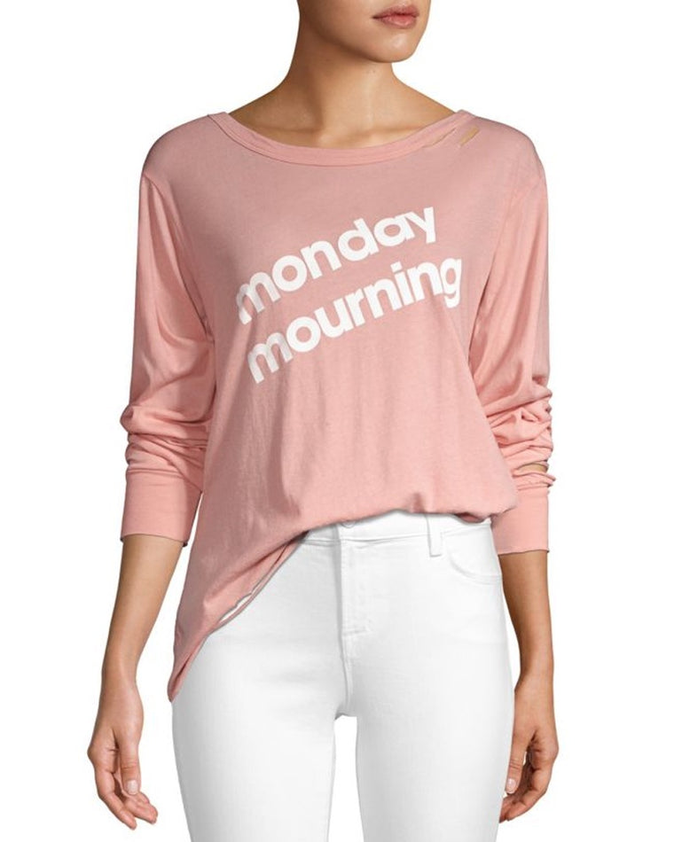 Monday Mourning Long Sleeve Tee