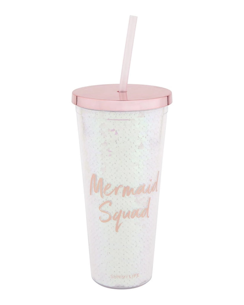Mermaid Squad Iridescent Tumbler