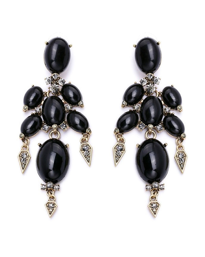 Leslie Stone Drop Earrings
