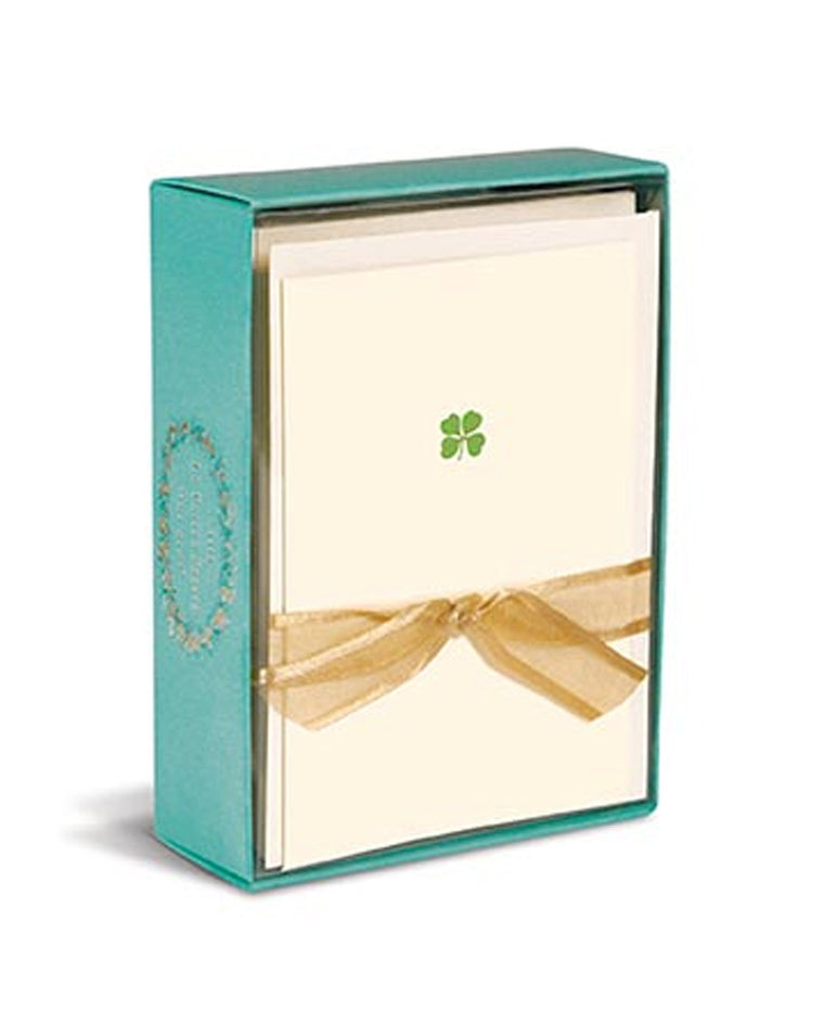 Four Leaf Clover Boxed Cards