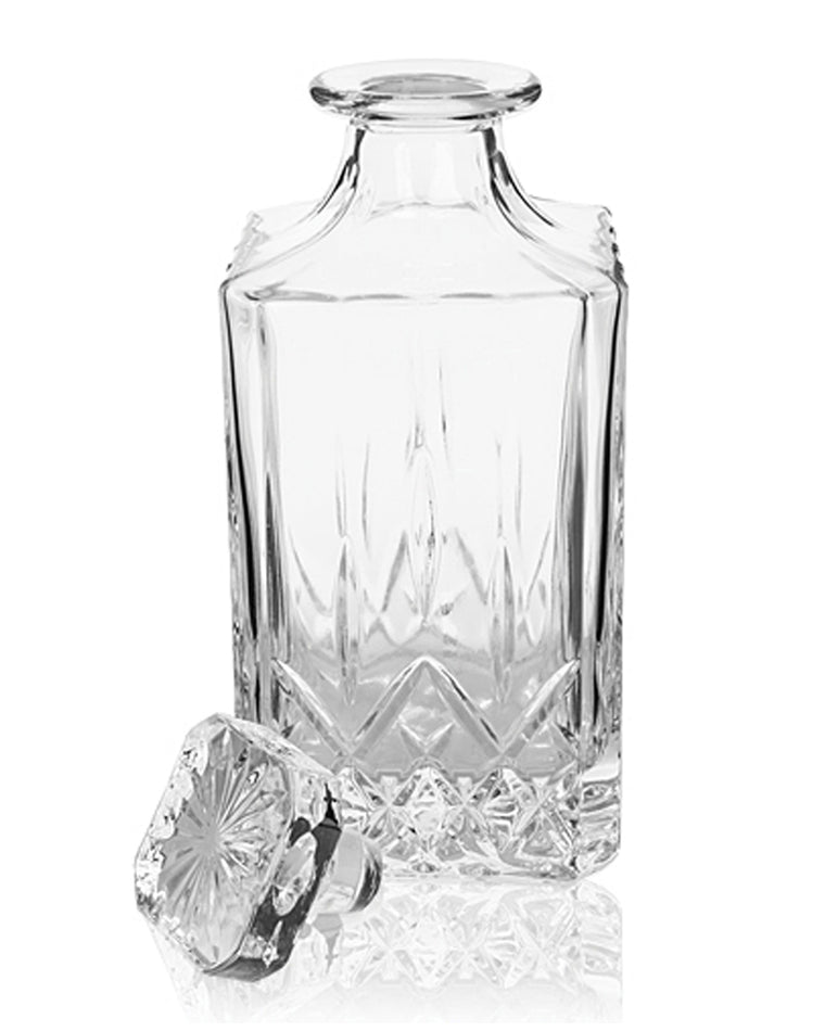 'Admiral' Crystal Liquor Decanter