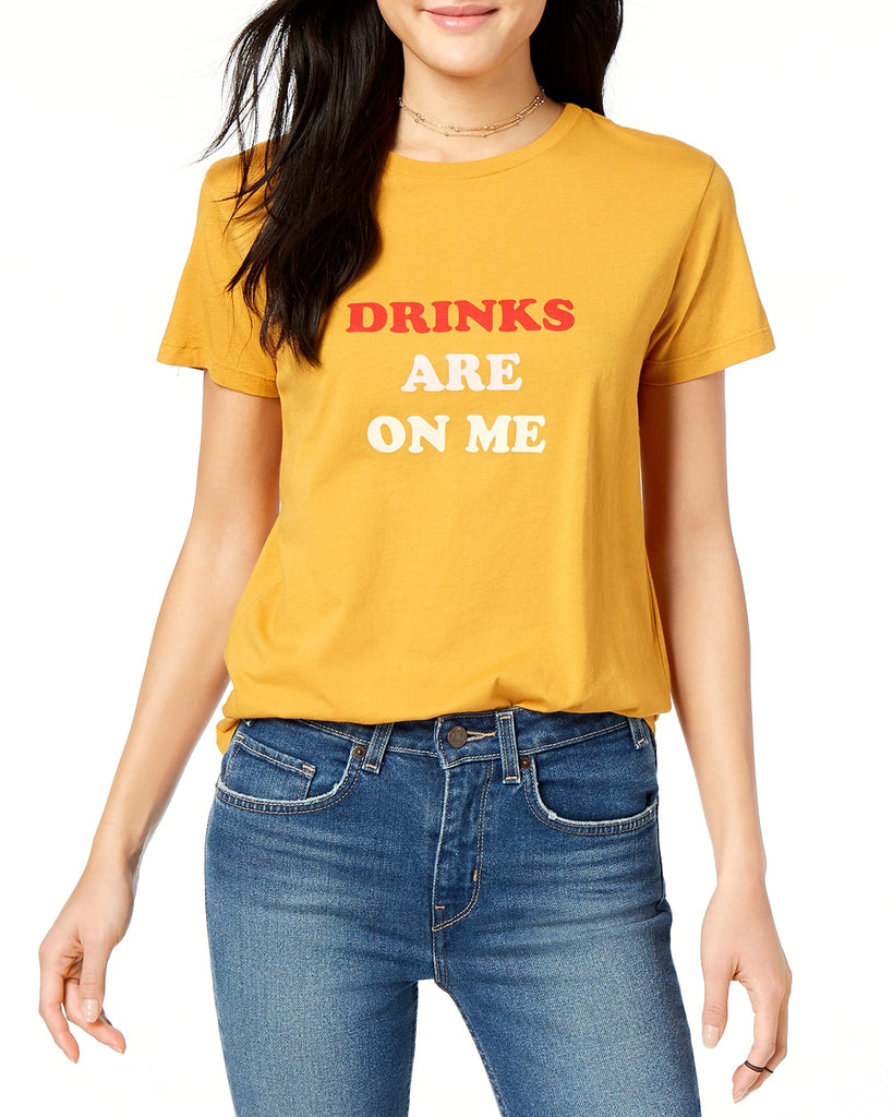 Drinks Are On Me Short Sleeve Tee