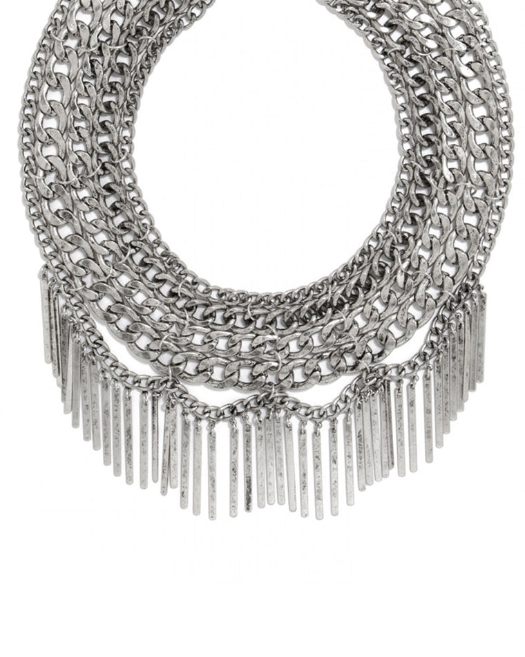 Bella Fringe Bib Necklace